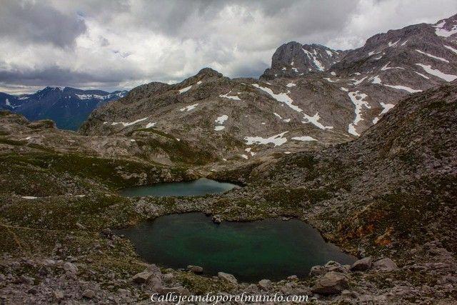 lagos en fuente de cantabria