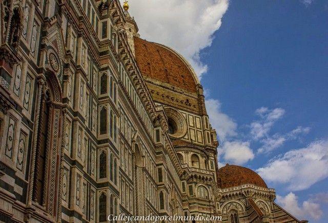 Florencia  - duomo detalle fachada