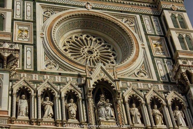 Florencia  - duomo detalle
