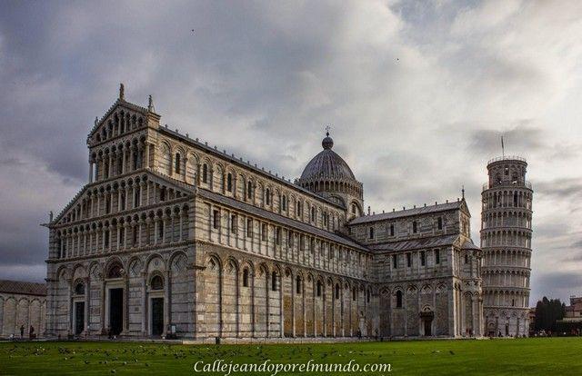 Pisa Duomo detalle torre