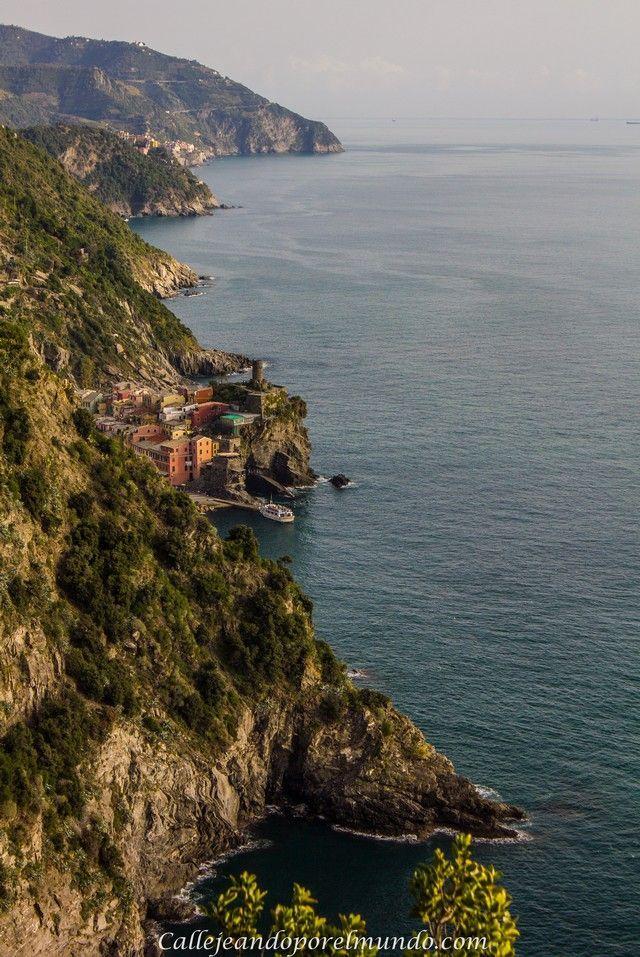 De Monterosso a Vernazza vistas por el camino