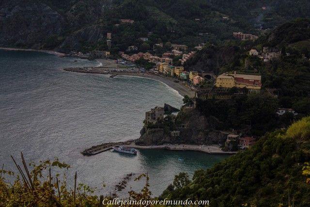 De Monterosso a Vernazza vistas