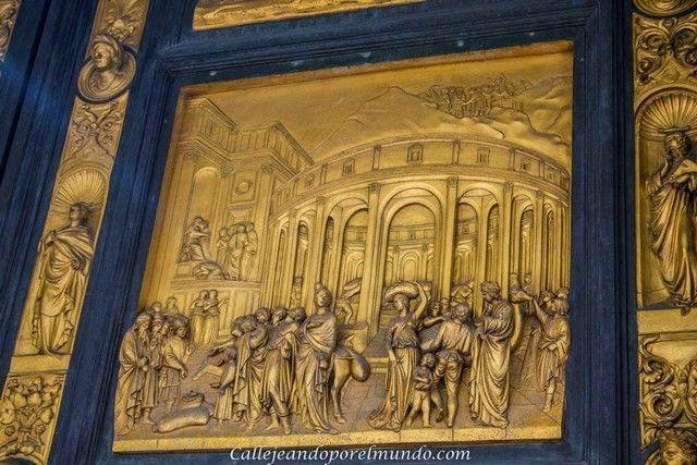 florencia Baptisterio detalle