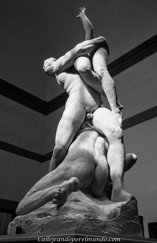 florencia- La Academia  - escultura