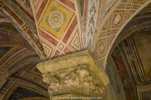 florencia Santa María Novella claustro detalle