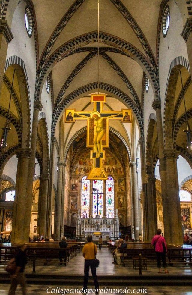 florencia Santa María Novella detalle interior