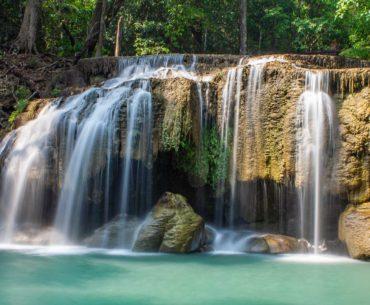 parque nacional erawan tailandia