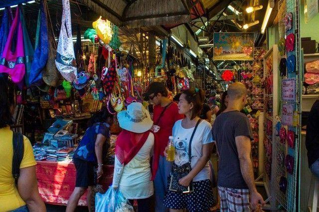mercado de chatuchak bangkok