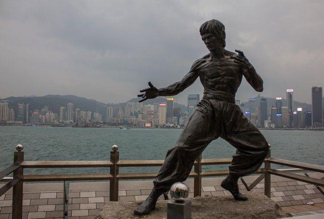 Bruce Lee Paseo de las estrellas Hong Kong