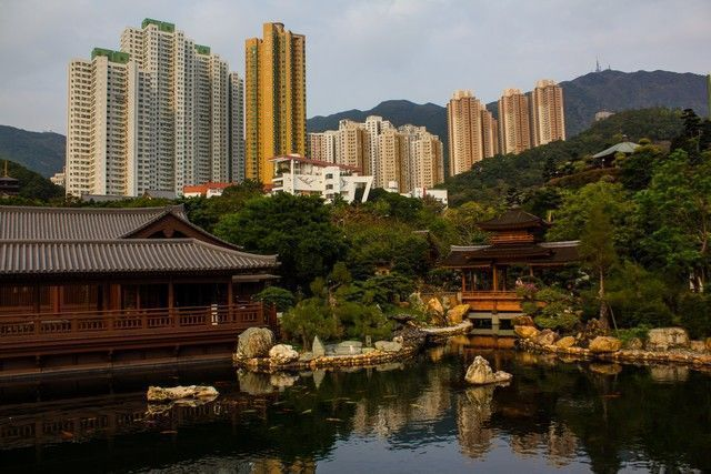 Nam Lian Garden hong kong vista general