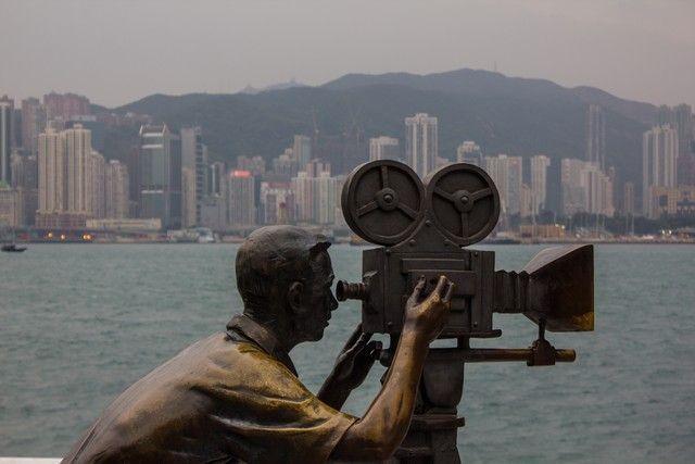 Paseo de las estrellas Hong Kong 2
