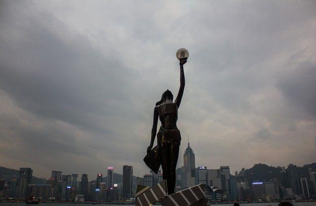 Paseo de las estrellas Hong Kong