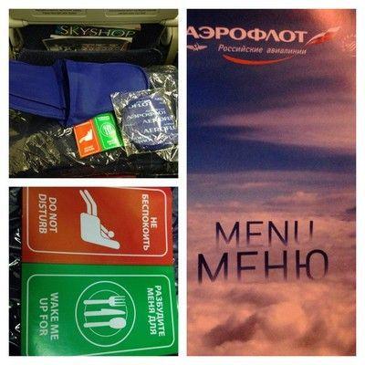 aeroflot detalles de vuelo