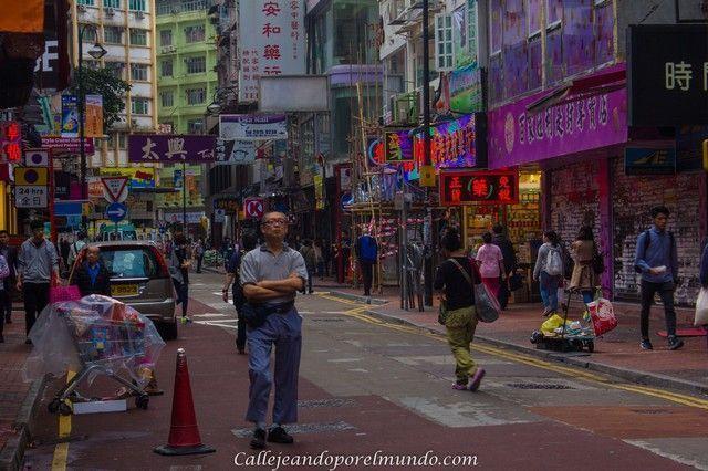 causeway bay calle hong kong