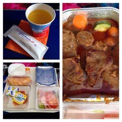 comida aeroflot 1