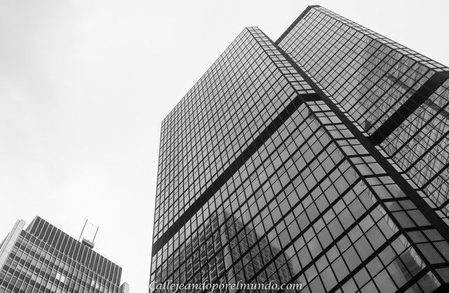 edificios de Hong Kong Des Voeux Road