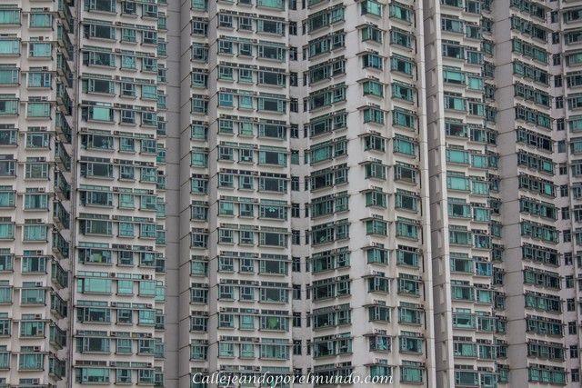 edificios de Tung Chung Hong Kong