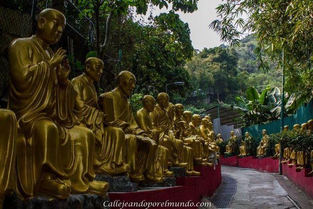 entrada a los 10000 budas de Sha Ting