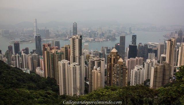 foto diurna pico Victoria Hong Kong