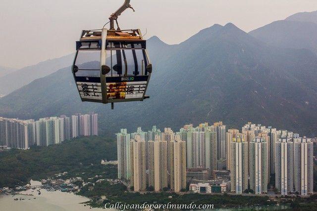 funicular nong ping lantau hong kong