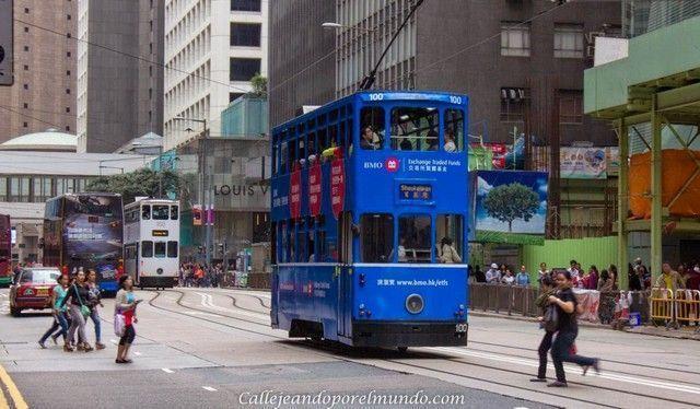Trasporte en Hong Kong