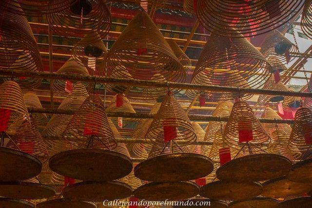 interior Man Mo Temple Hong Kong