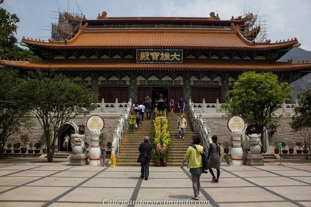 monasterio Po Lin Hong Kong Lantau