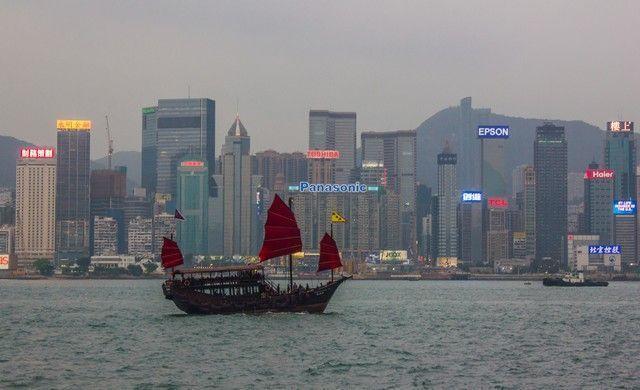 velero en Hong Kong