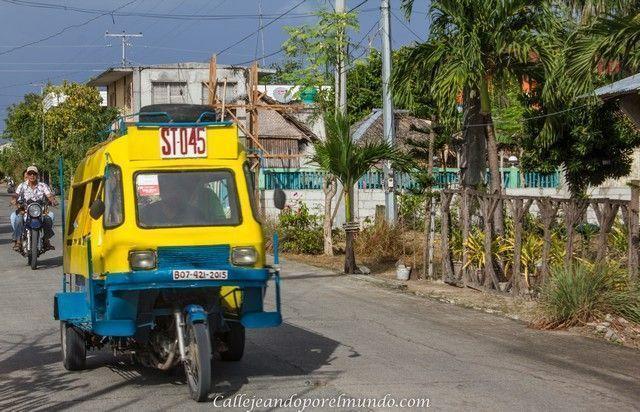 calles de Bantayan Island Cebu Filipinas