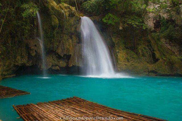 kawasan falls Moalboal Cebu Filipinas