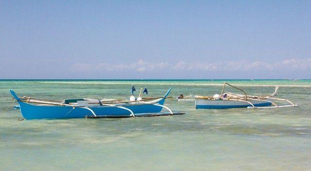 kota beach bantayan island filipinas