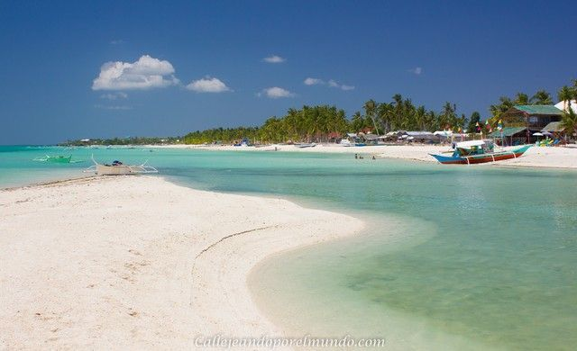 mejor playa bantayan island filipinas