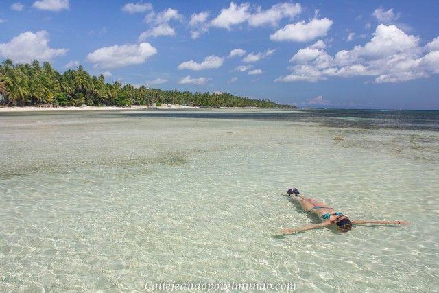 nadando en paliton beach san juan siquijor