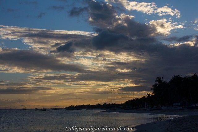 puesta de sol bantayan island filipinas