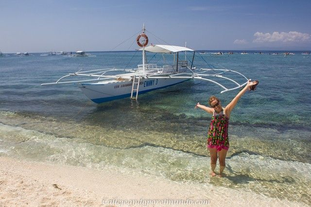 balicasag island filipinas alona beach
