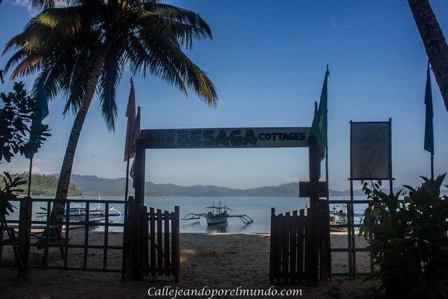 entrada Besaga Cotagges Port Barton