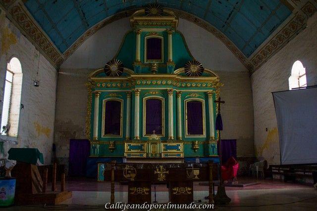 interior iglesia de San Isidro