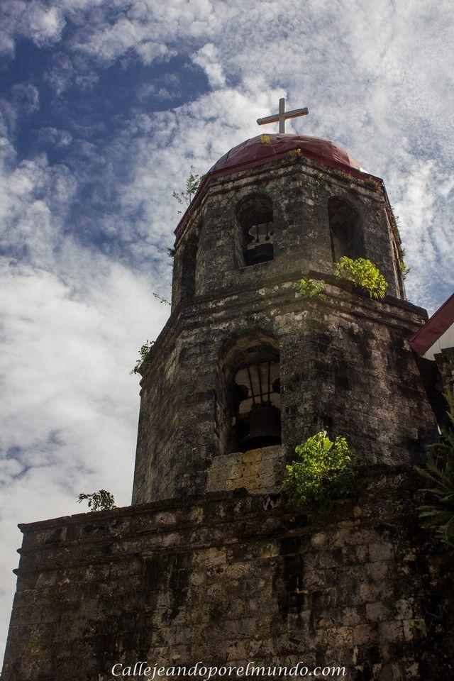 torre iglesia san isidro siquijor filipinas