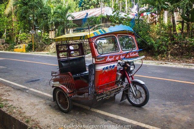 triciclo carreteras siquijor