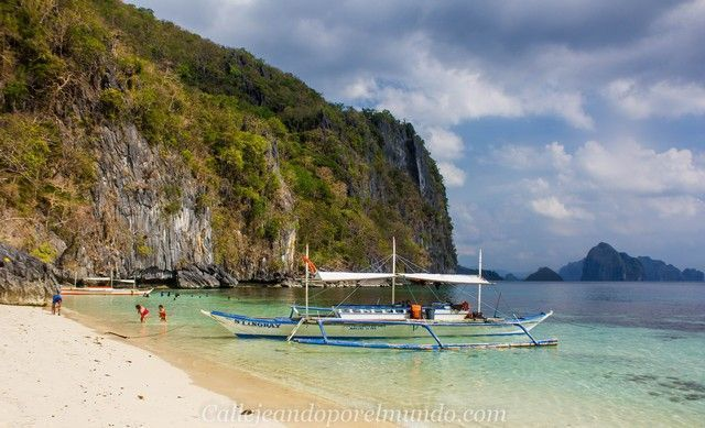 7 commandos beach tour a en el nido filipinas