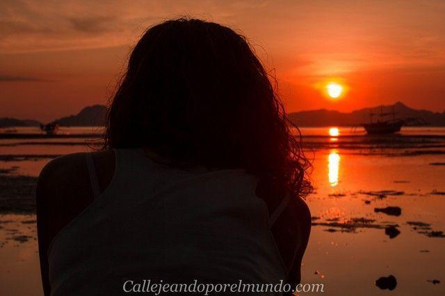 atardecer en Corong Corong el nido filipinas 3