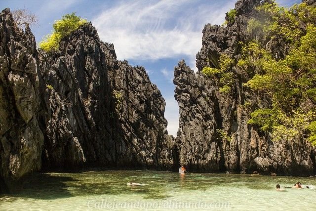 secret beach tour c el nido filipinas 1
