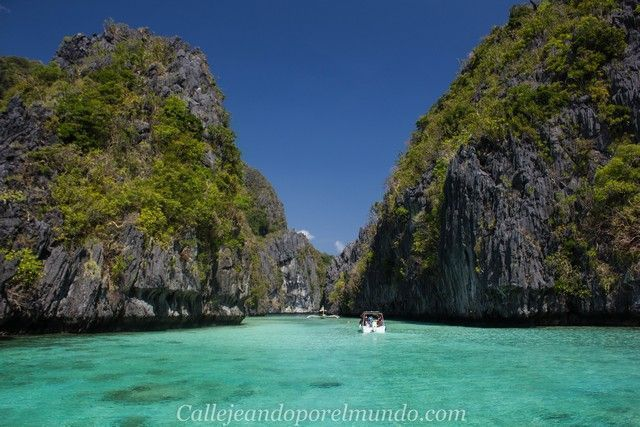 small lagoon tour A en el nido filipinas