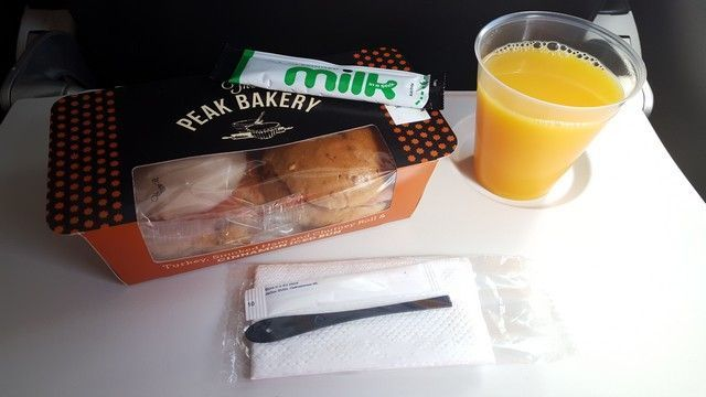 aperitivo vuelo Londres British airways