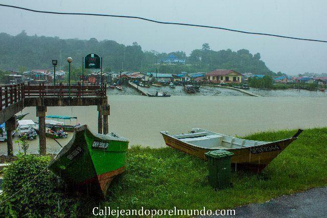 bako pueblo sarawak malasia