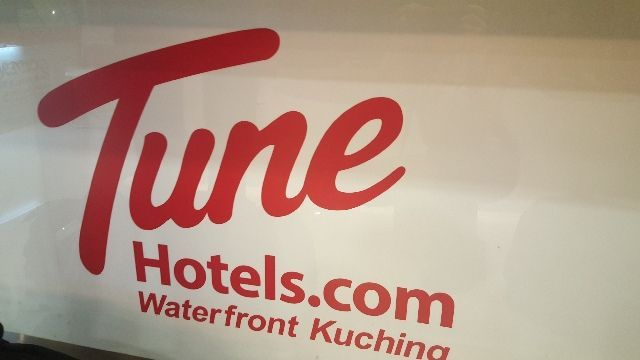 hotel tune waterfront kuching borneo