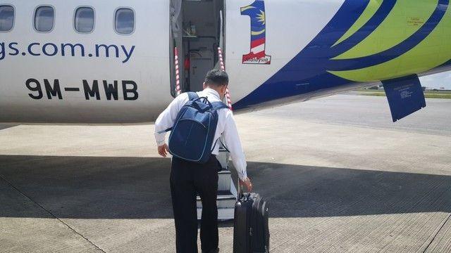 entrada vuelo gunung mulu desde kuching borneo