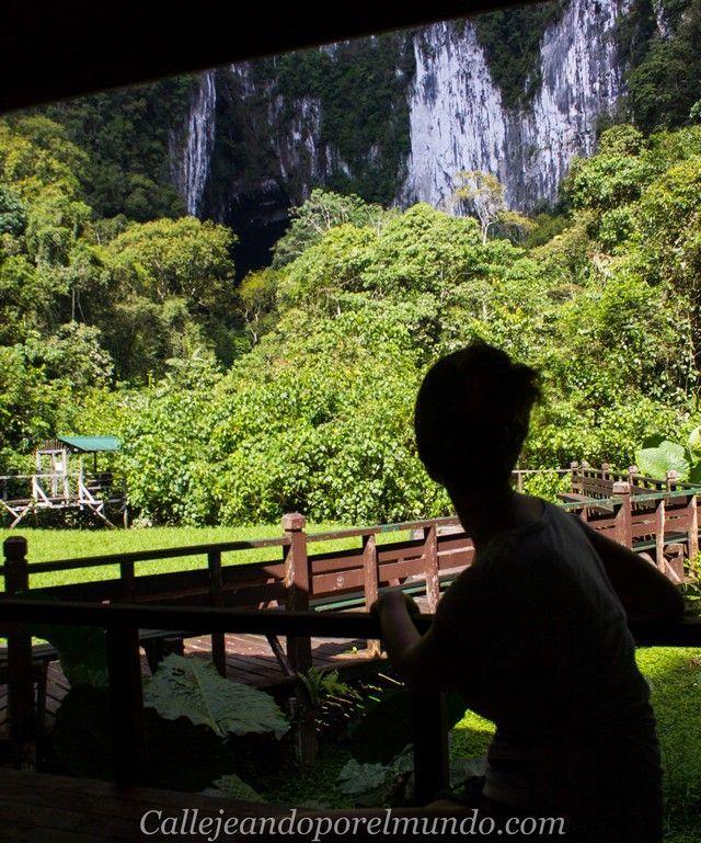 exodo de los murcielagos mirador gunung mulu borneo malaisa