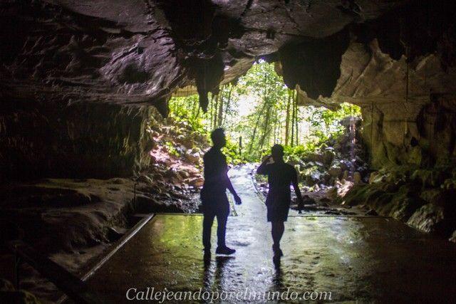 lang cave gunung mulu borneo malasia entrada