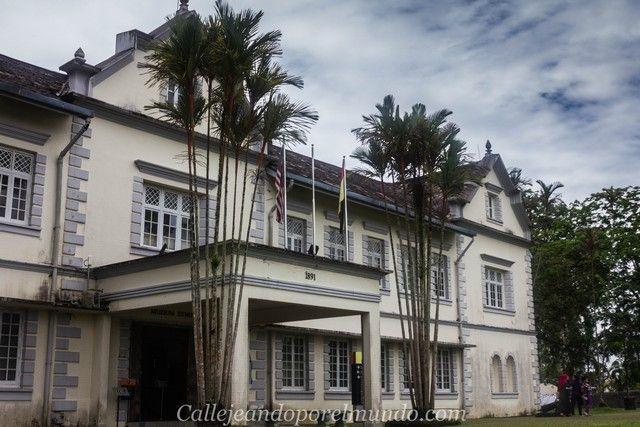 museo etnologico de kuching sarawak borneo